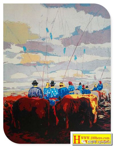 """内蒙古自治区""""一带一路""""版画作品赛事展览颁奖大会"""